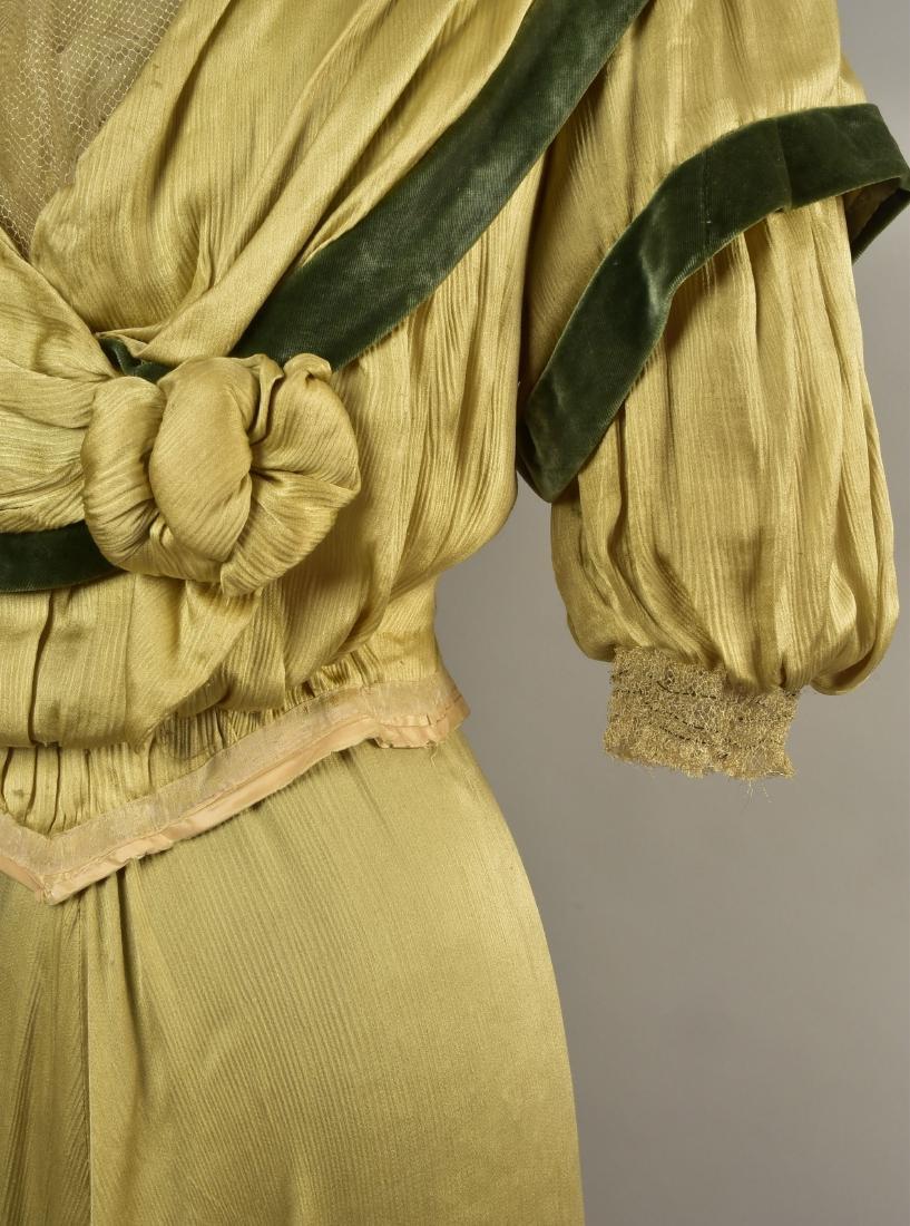 SILK and VELVET DRESS with ROYAL PROVENANCE, c. 1906 - 5