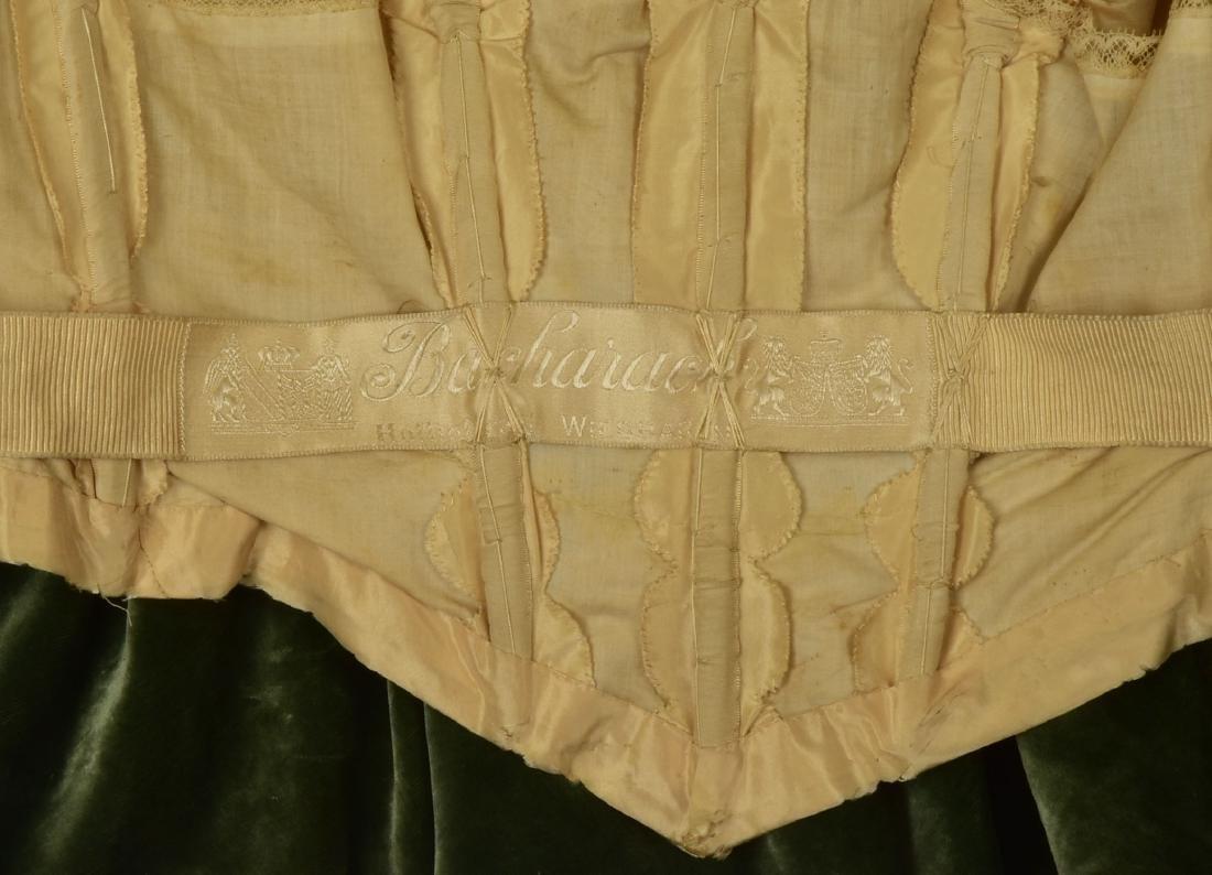 SILK and VELVET DRESS with ROYAL PROVENANCE, c. 1906 - 6