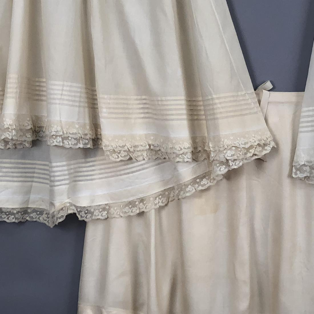 THREE PETTICOATS, QUEEN VICTORIA, 1880s - 1890s - 5