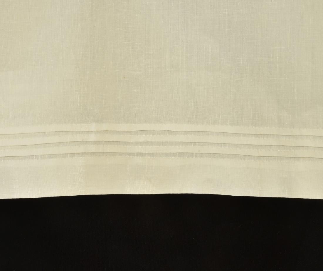 MONOGRAMMED SPLIT DRAWERS, QUEEN VICTORIA, 1880s - - 3