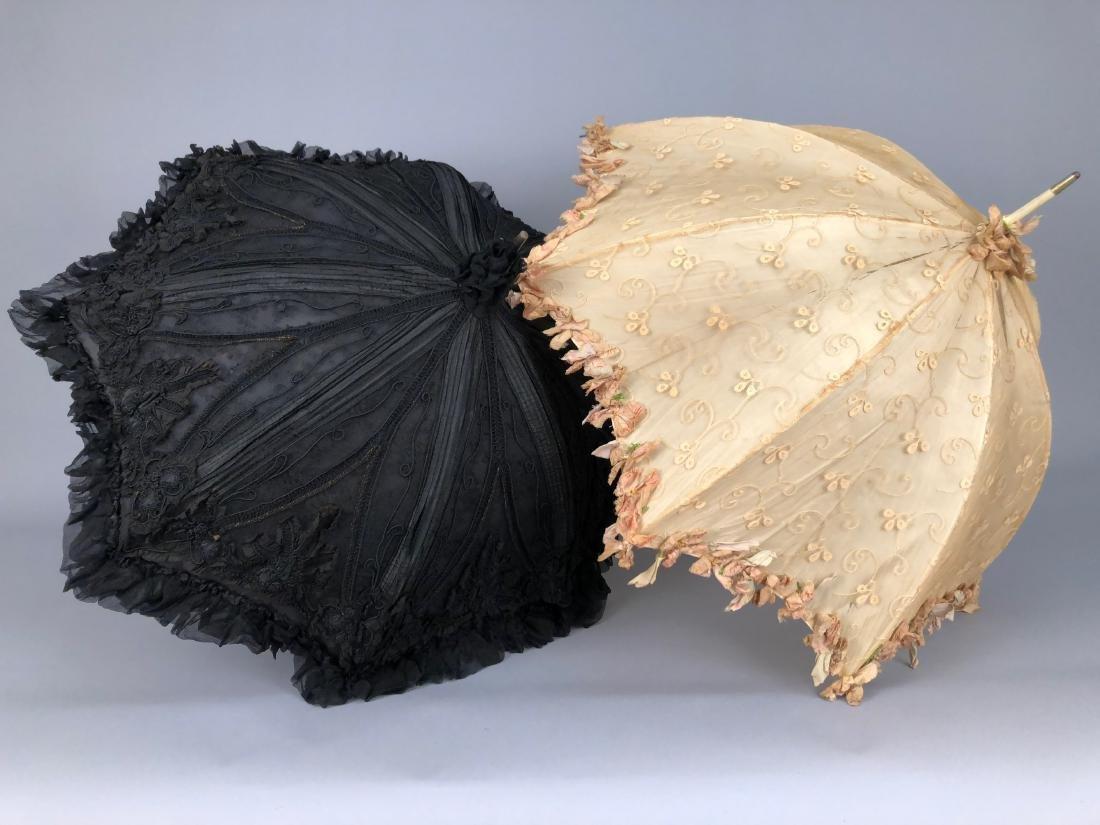 TWO LACE PARASOLS, c. 1905 - 3