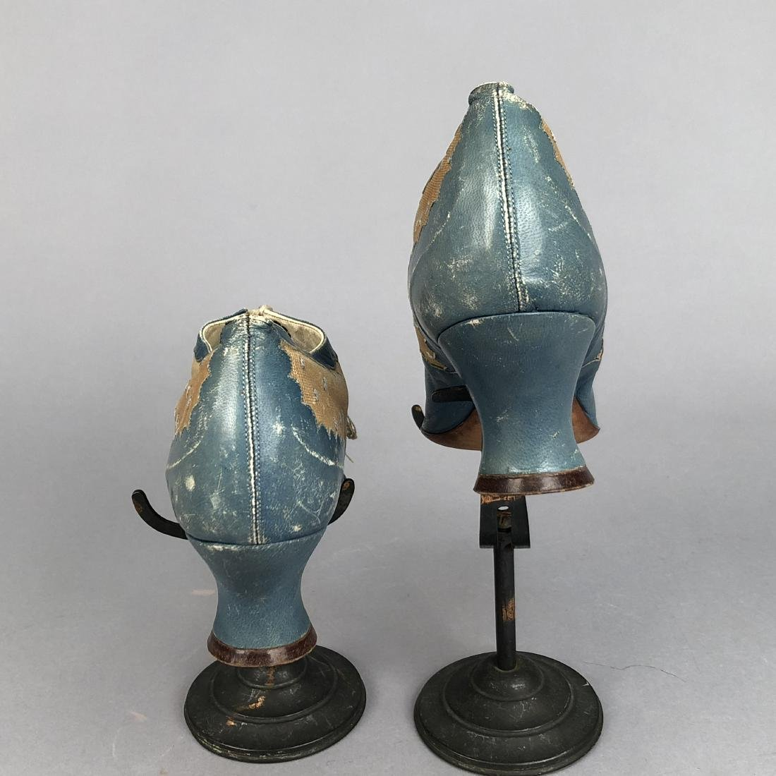 LACING LEATHER SHOES with DOTTED INSERTS, 1890 - 1895 - 3