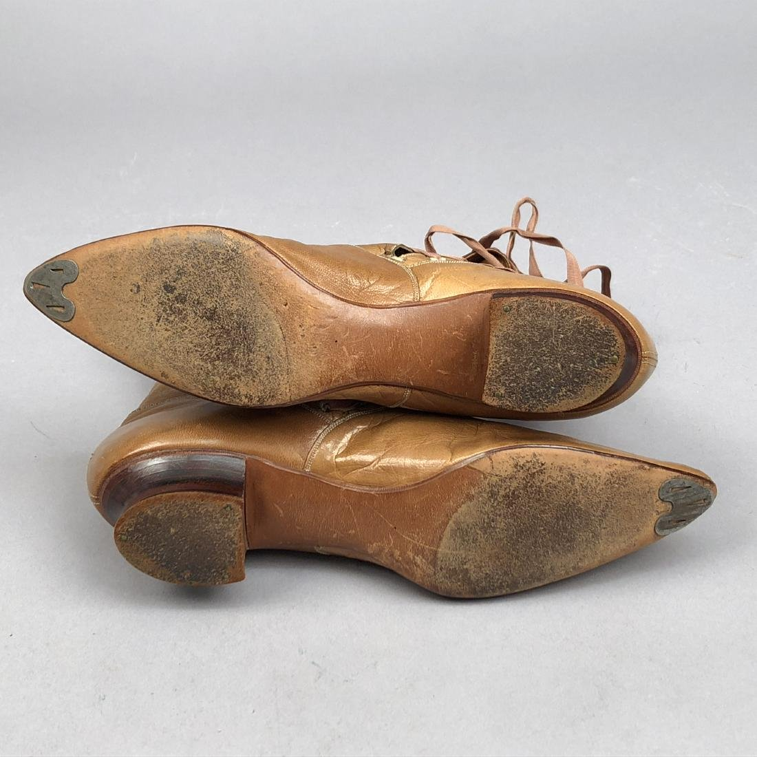 LADY'S SIDE-LACING BOOTS with TOPSTITCHING, 1890s - 4