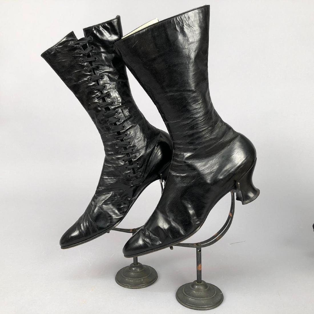 FOUR PAIR LADIES' LACING BOOTS, 1890s - 5