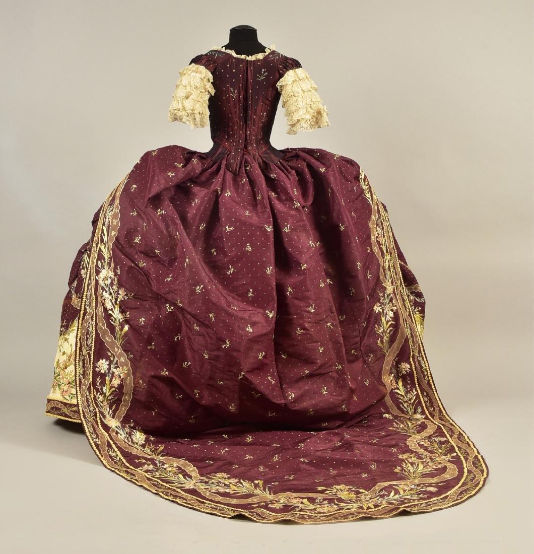 18th C-STYLE MARIE ANTOINETTE FANCY-DRESS COSTUME c. - 2