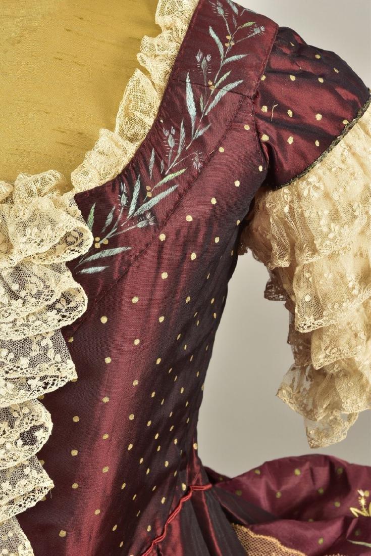 18th C-STYLE MARIE ANTOINETTE FANCY-DRESS COSTUME c. - 3