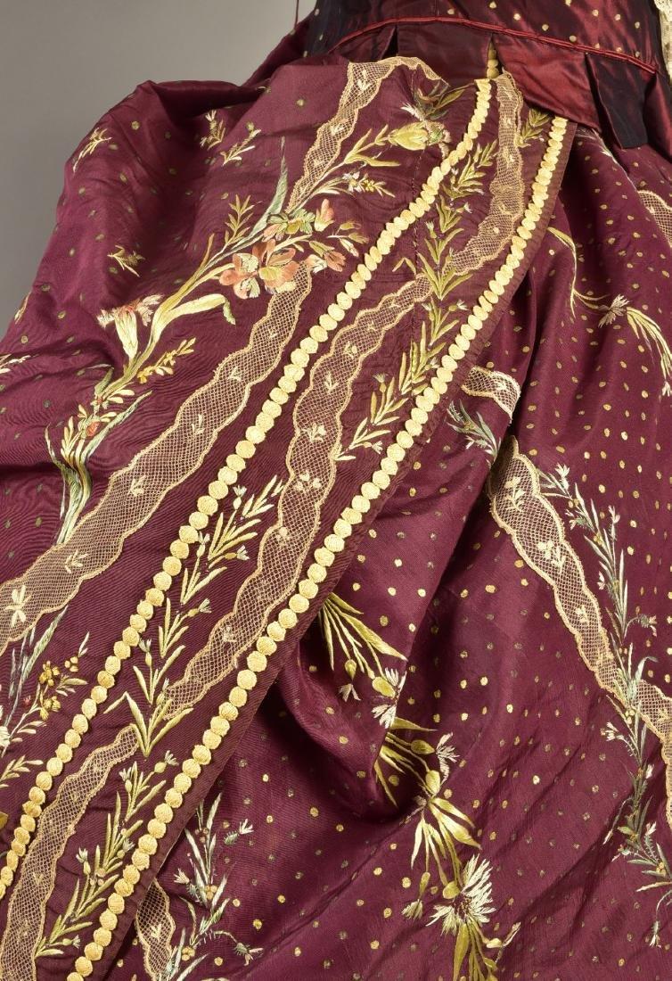18th C-STYLE MARIE ANTOINETTE FANCY-DRESS COSTUME c. - 5