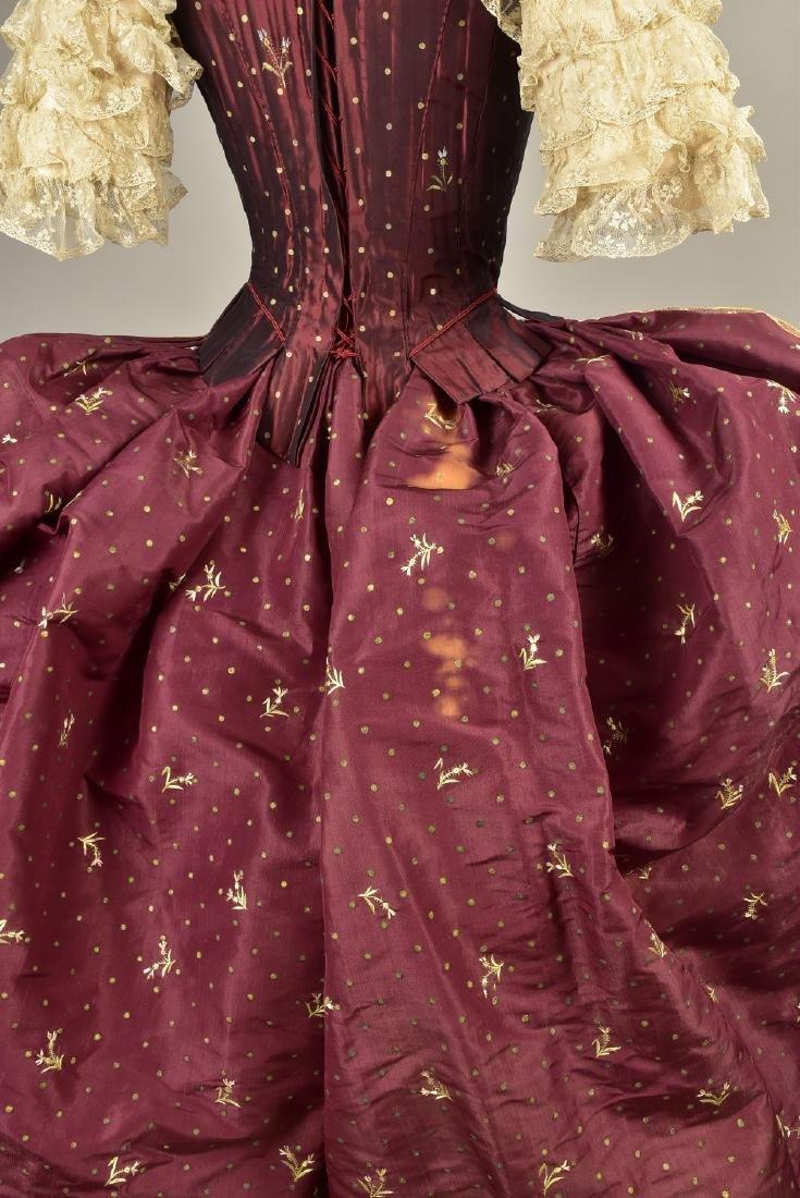 18th C-STYLE MARIE ANTOINETTE FANCY-DRESS COSTUME c. - 6