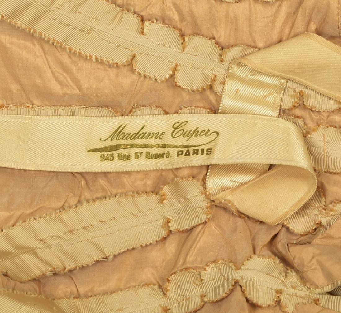 PARIS SILK JACKET with PEARLS, FEATHERS and CORDING, c. - 5