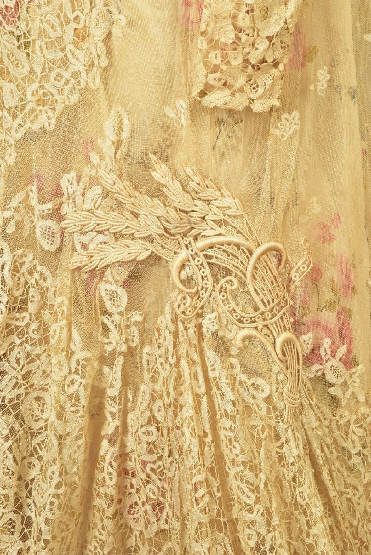 PARIS SILK and LACE GOWN, MARY ELIZABETH DEPREE, 1890s - 3