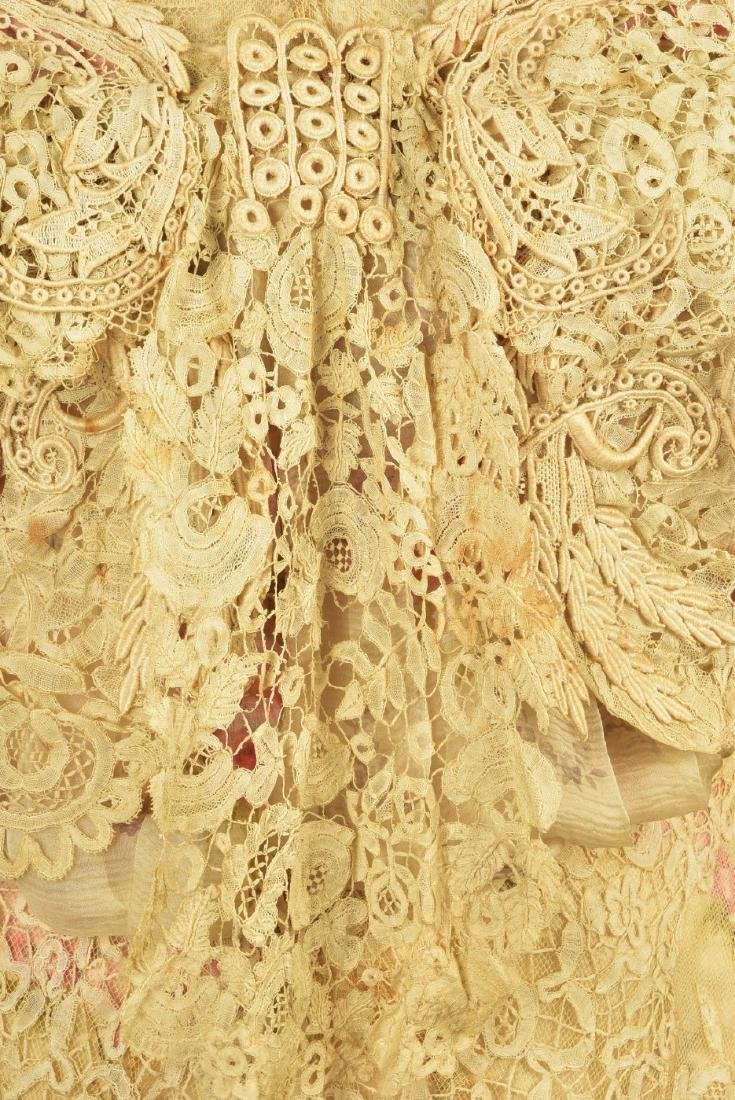 PARIS SILK and LACE GOWN, MARY ELIZABETH DEPREE, 1890s - 5