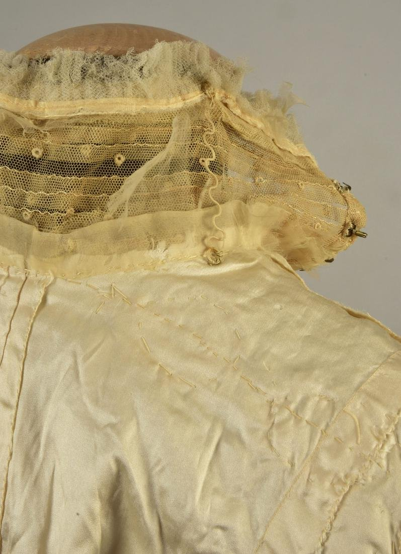 TWO EMBROIDERED BODICES, 1900s - 5