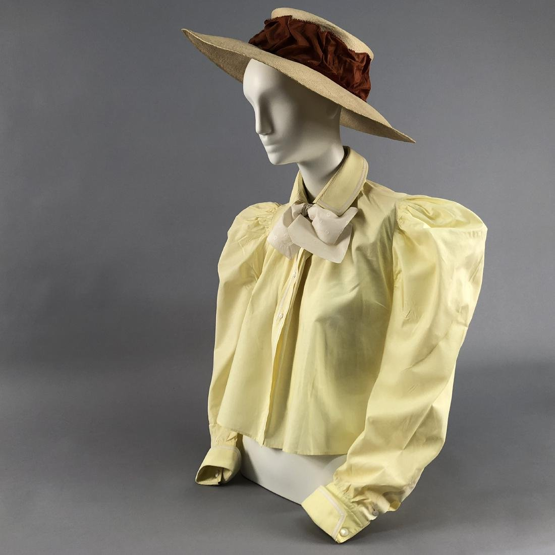 COTTON BLOUSE, 1895 - 1897, worn by KATHERINE HEPBURN