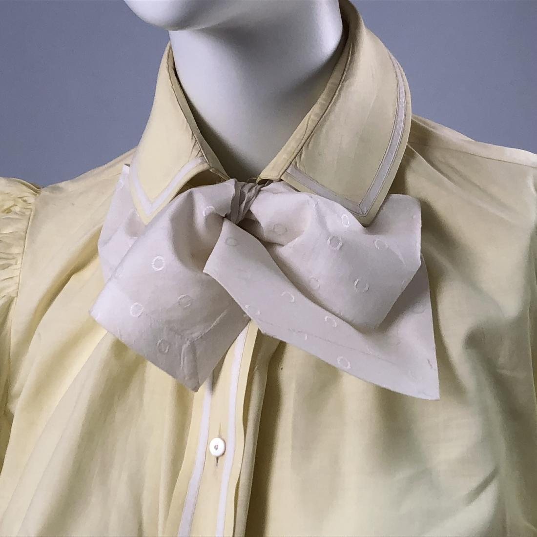 COTTON BLOUSE, 1895 - 1897, worn by KATHERINE HEPBURN - 2