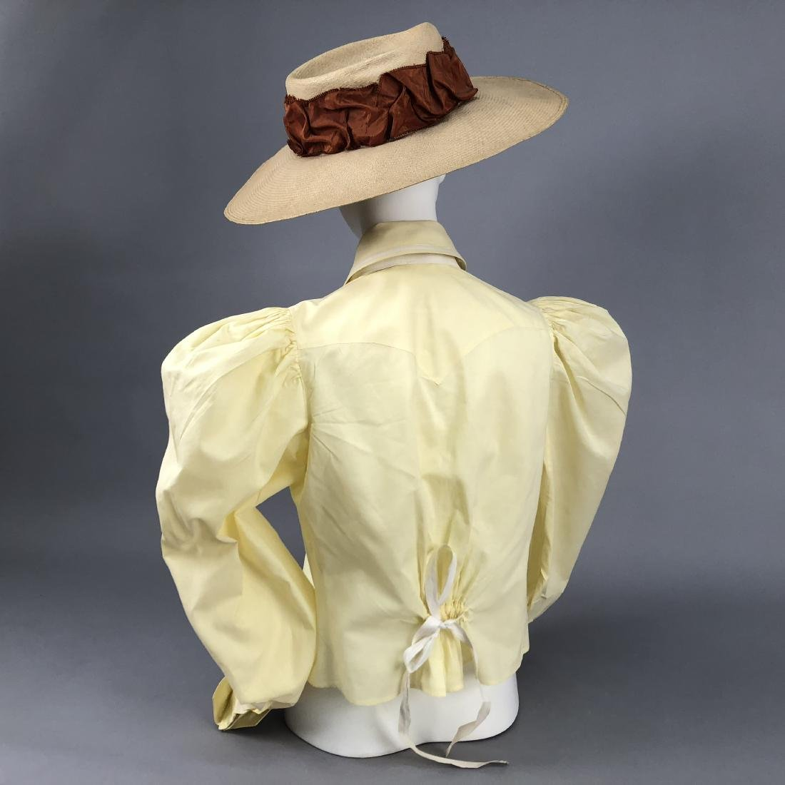 COTTON BLOUSE, 1895 - 1897, worn by KATHERINE HEPBURN - 4