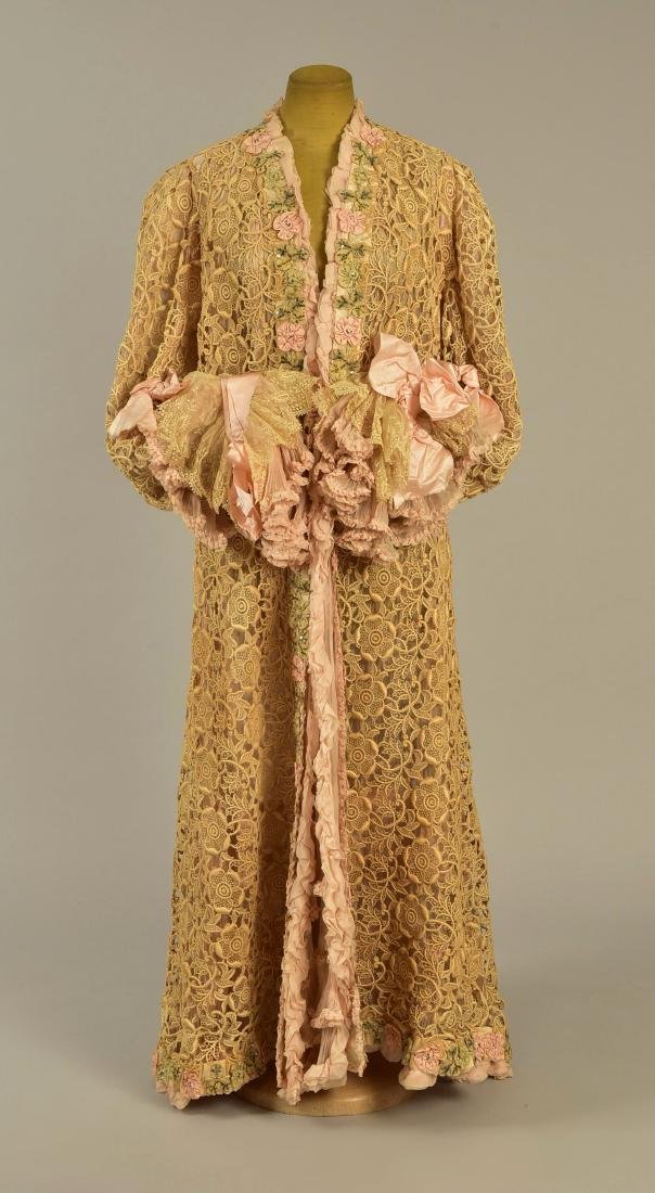 LACE COAT attributed to EMPRESS MARIE of RUSSIA, c.
