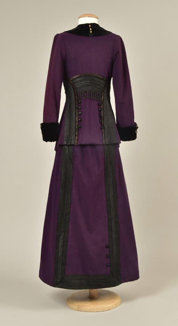WOOL SUIT with BRAIDED TRIM c. 1912 - 2