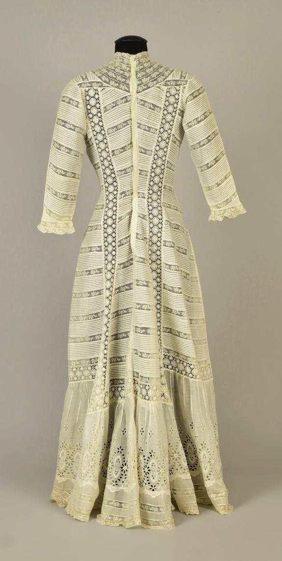 PRINCESSLINE VOILE and LACE DRESS, 1908 - 2
