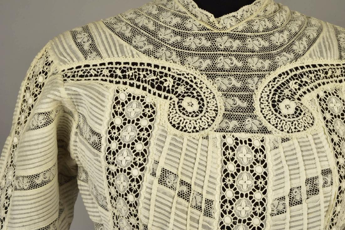 PRINCESSLINE VOILE and LACE DRESS, 1908 - 4
