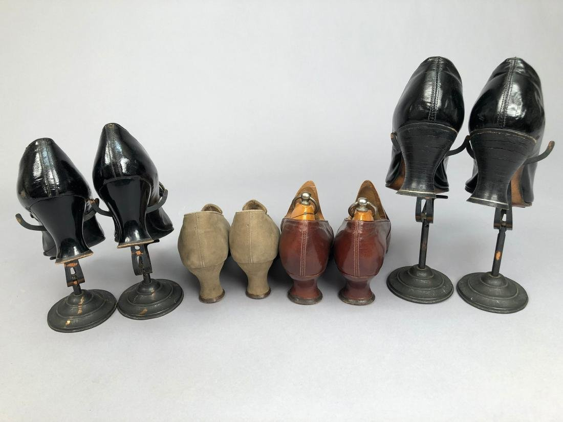 FOUR PAIR LADIES' HEELED SHOES, 1910 - 1915 - 3