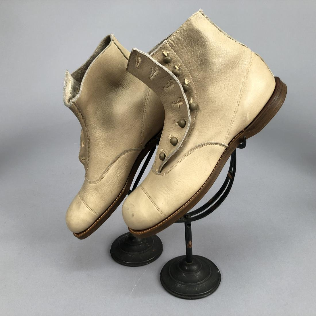 FIVE PAIR CHILDRENS BOOTS, 1900 - 1910 - 2