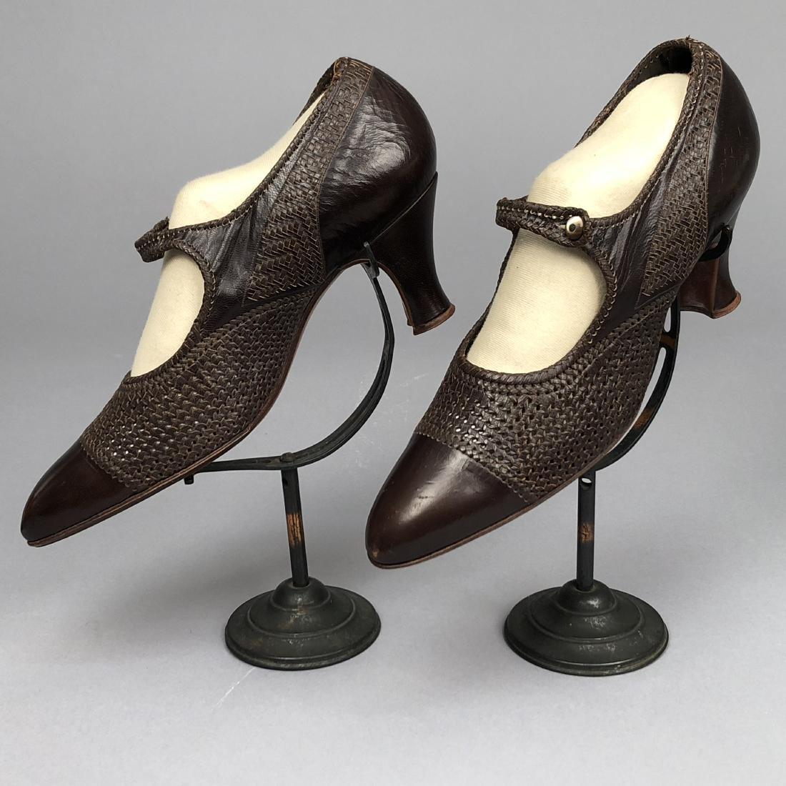 THREE PAIR LADIES' SHOES, 1910 - 1930 - 2