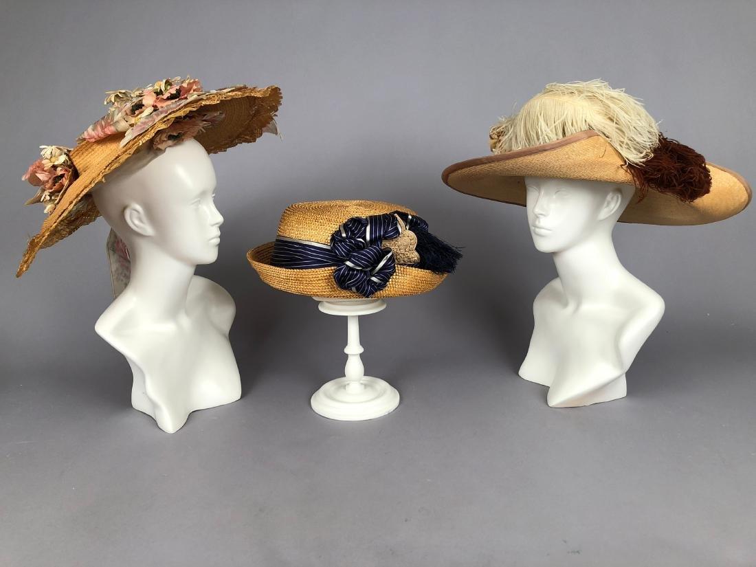 THREE STRAW HATS, 1900 - 1912