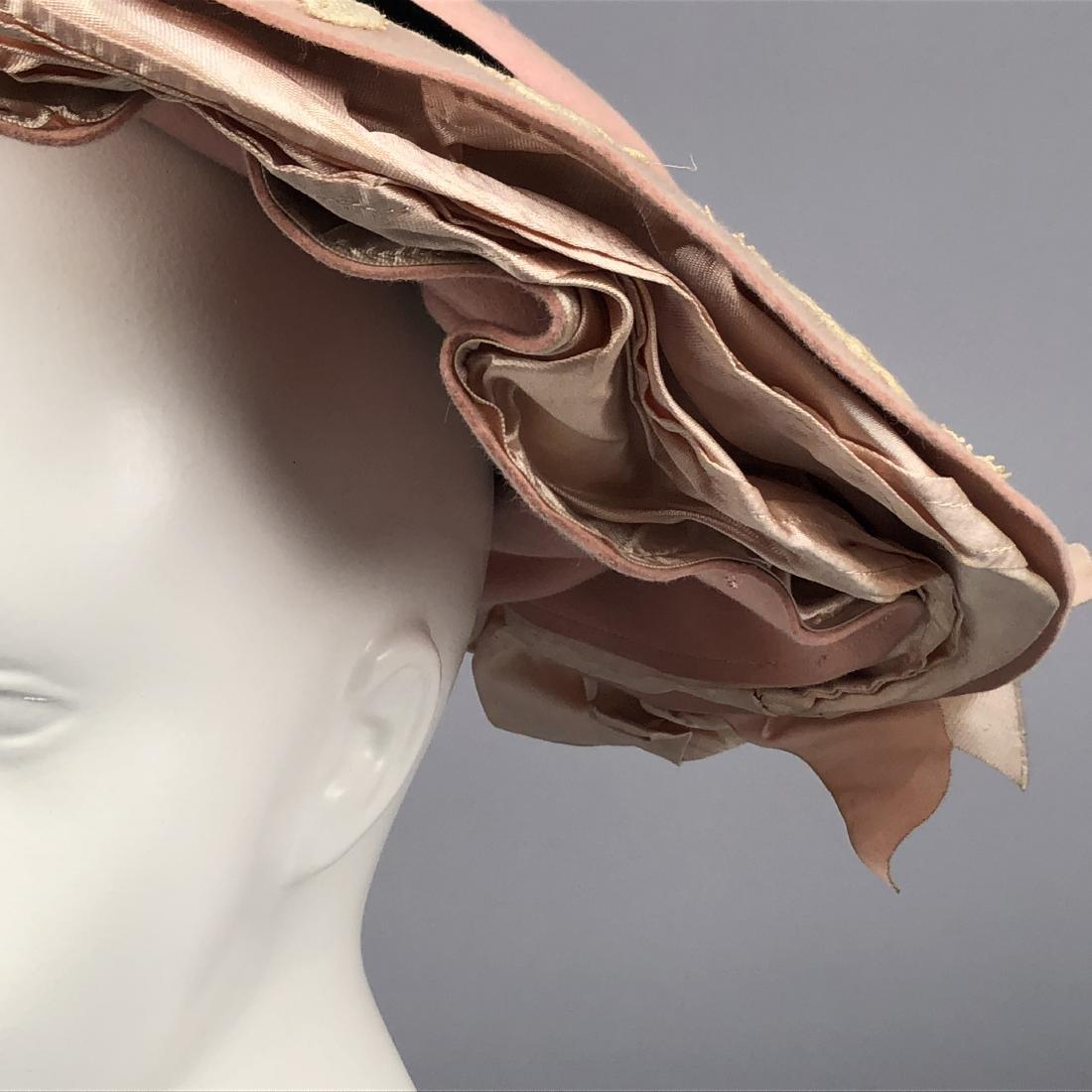 THREE WIDE-BRIM HATS, 1902 - 1910 - 4