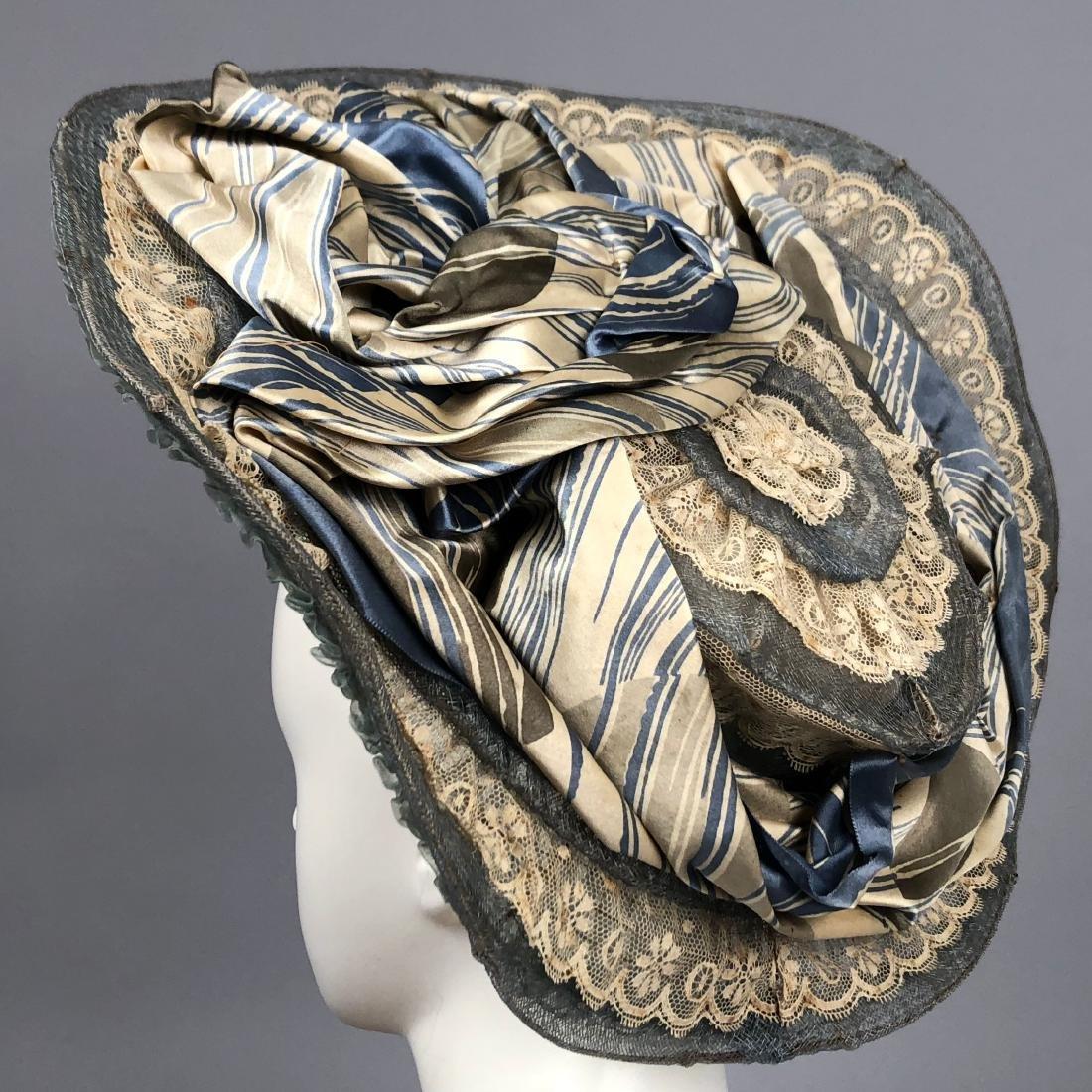 THREE WIDE-BRIM HATS, 1902 - 1910 - 5