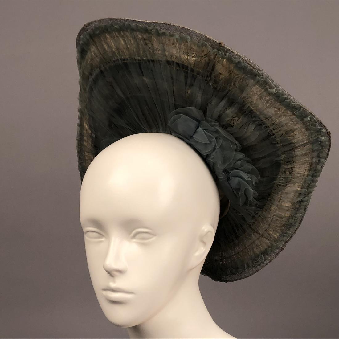 THREE WIDE-BRIM HATS, 1902 - 1910 - 6