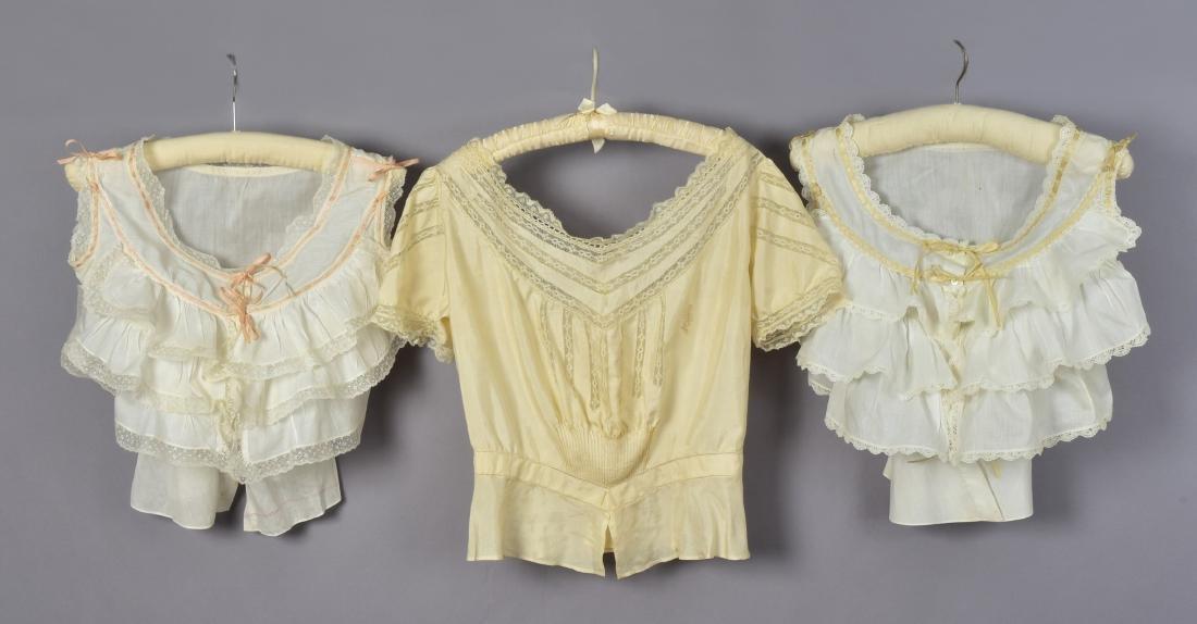 LOT of SIX LADIES' FANCY WHITES, 1900-1915