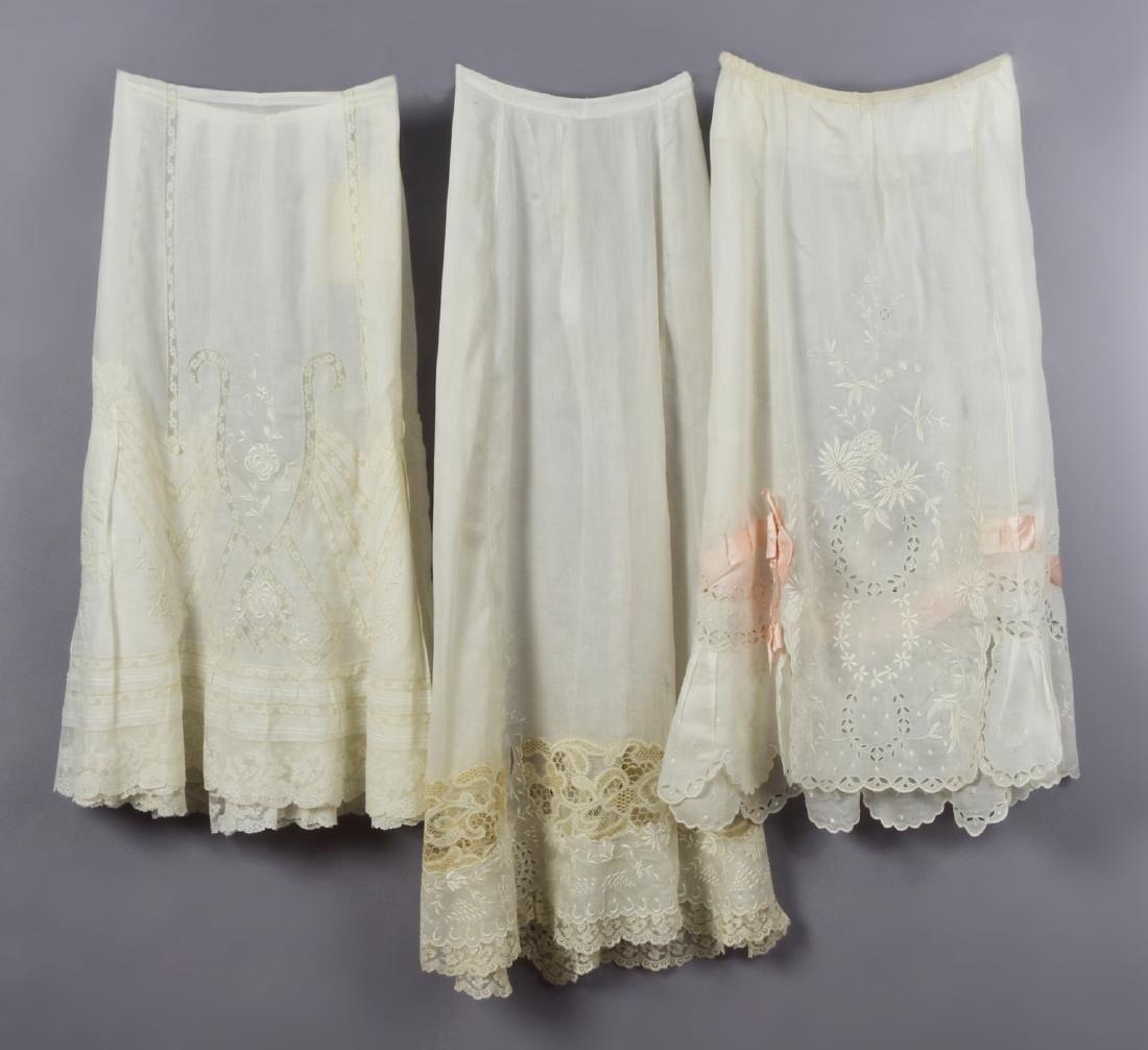 LOT of SIX LADIES' FANCY WHITES, 1900-1915 - 2