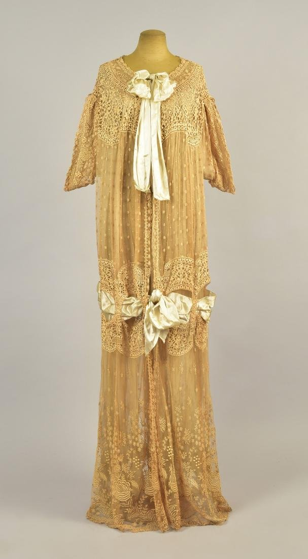 DRECOLL PARIS LACE and CHIFFON DESHABILLE, 1912