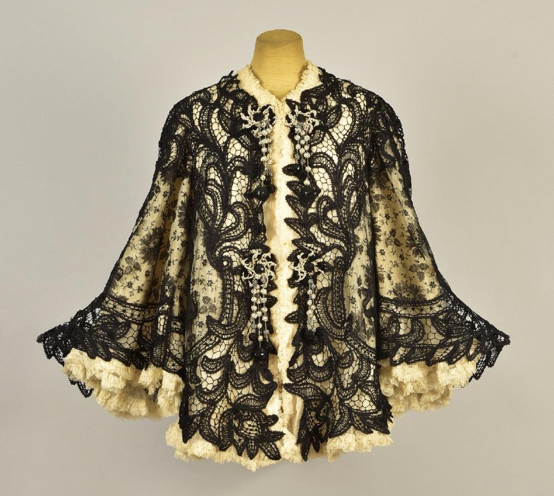 LACE JACKET with ROYAL ATTRIBUTION, 1905