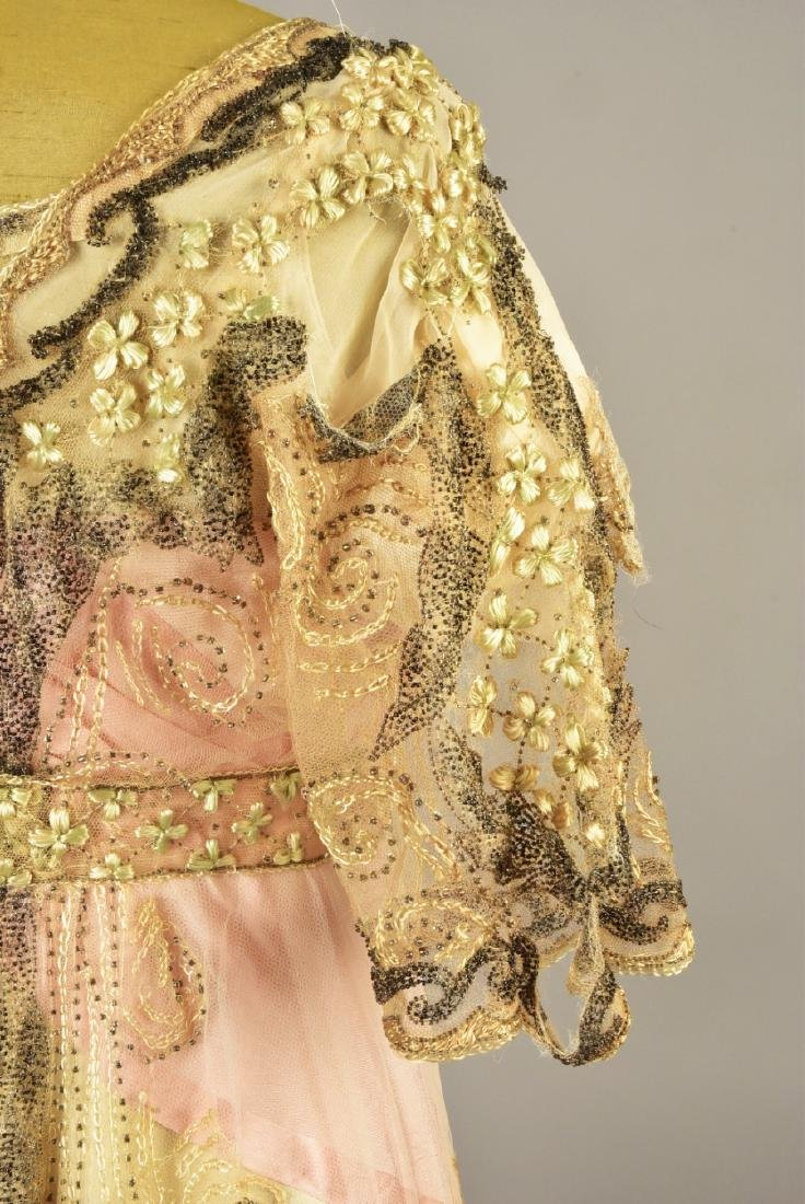 DOUCET EVENING GOWN, attributed to JULIA BUTTERFIELD, - 3