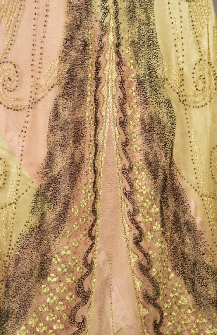 DOUCET EVENING GOWN, attributed to JULIA BUTTERFIELD, - 4