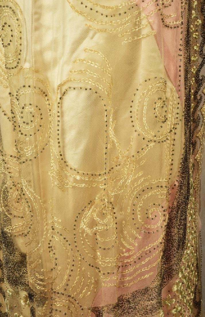 DOUCET EVENING GOWN, attributed to JULIA BUTTERFIELD, - 5