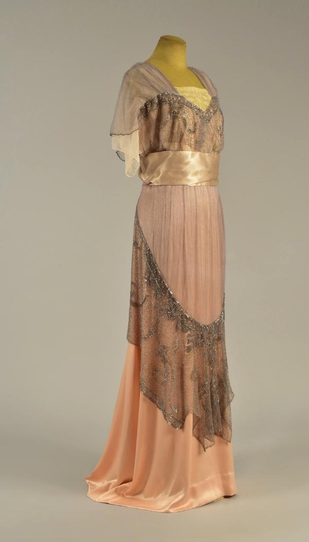 FIRST LADY ELLEN WILSON'S BEADED GOWN, 1913 - 1914