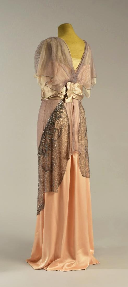 FIRST LADY ELLEN WILSON'S BEADED GOWN, 1913 - 1914 - 2