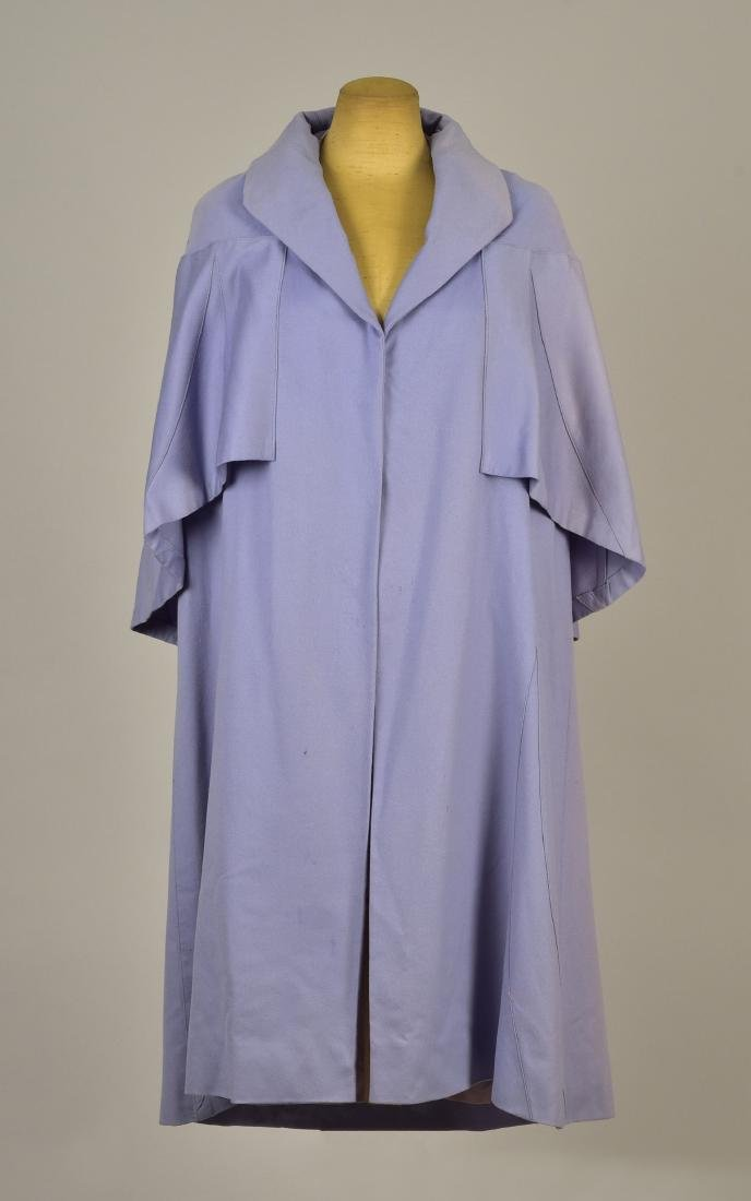 PAQUIN COUTURE WOOL COAT, 1920