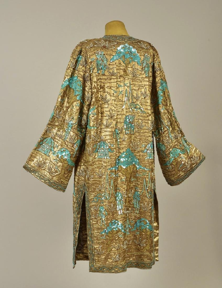 BEADED GOLD LAME COAT, 1927 - 2