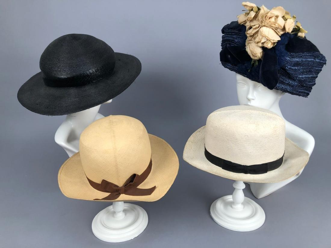 FOUR STRAW HATS, 1908 - 1930