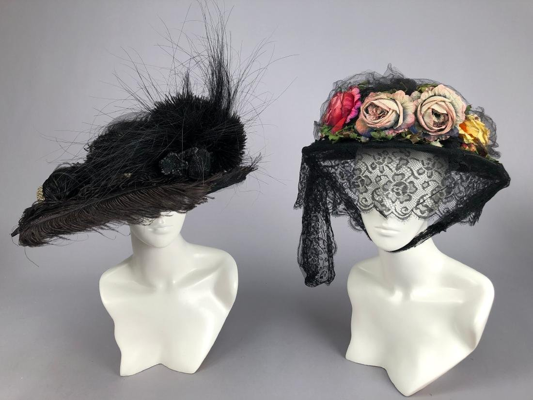 THREE WIRED BLACK HATS, 1915 - 1920