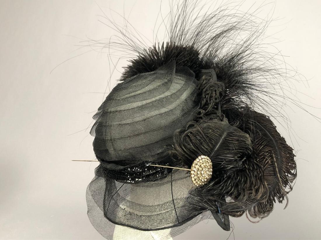 THREE WIRED BLACK HATS, 1915 - 1920 - 3