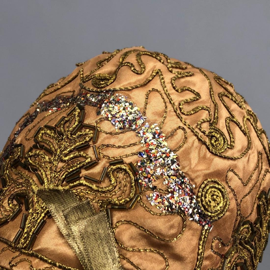 SILK TURBAN and TWO CLOCHES, c. 1912 - 1920s - 7