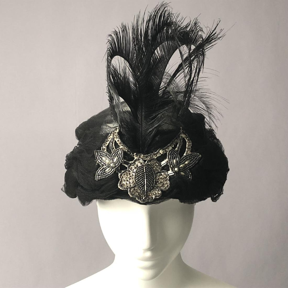 SILK TURBAN and TWO CLOCHES, c. 1912 - 1920s - 8