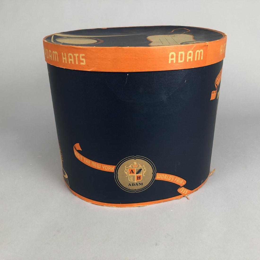 NEW YORK WORLD'S FAIR HAT BOX,  1939 - 2
