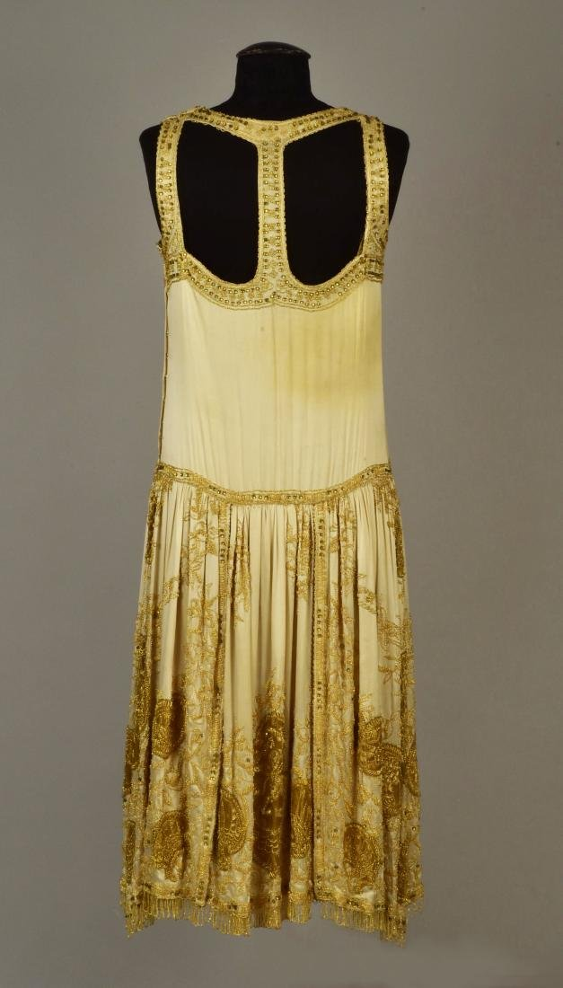 NEMSER BEADED and EMBROIDERED EVENING DRESS, 1925 - 2