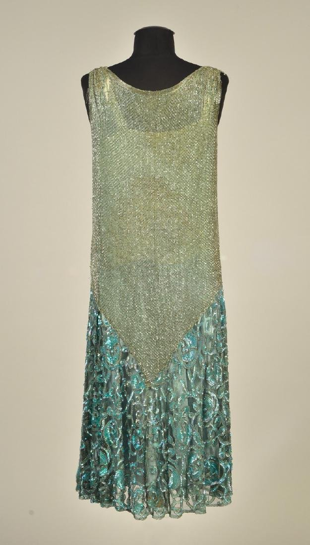 BEADED and SEQUINED NET DRESS, 1927 - 2