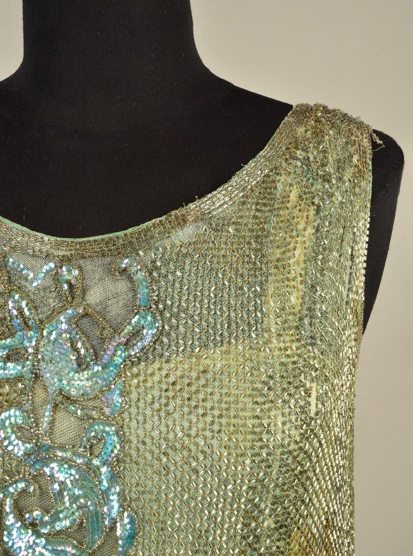 BEADED and SEQUINED NET DRESS, 1927 - 3